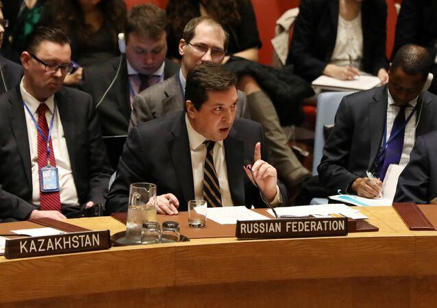 Rusya'nın Birleşmiş Milletler (BM) Daimi Temsilci Yardımcısı Vladimir Safronkov