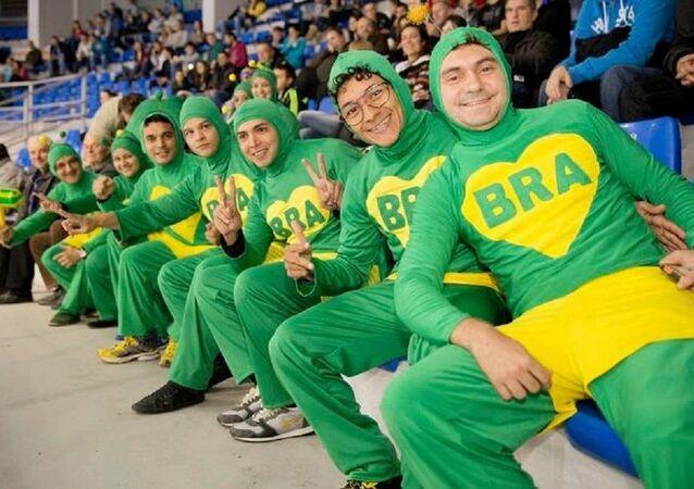 Brezilyalı taraftarlar
