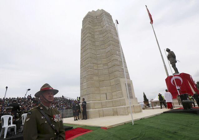 Gelibolu'da Anzak Anma Günü