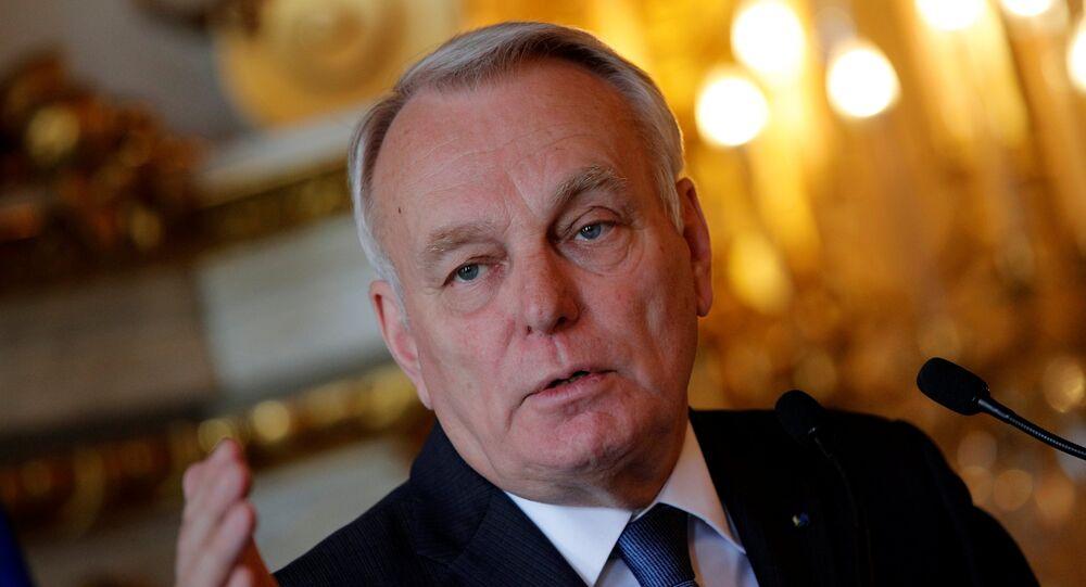 Fransa Dışişleri Bakanı Jean-Marc Ayrault