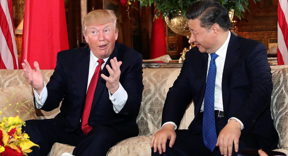 Donald Trump - Şi Cinping