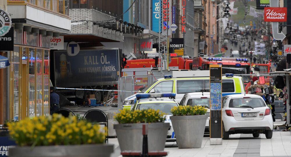 Stockholm'de kamyonlu saldırı