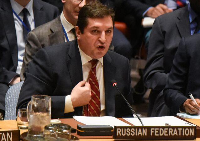 Rusya'nın (BM) Daimi Temsilci Yardımcısı Vladimir Safronkov