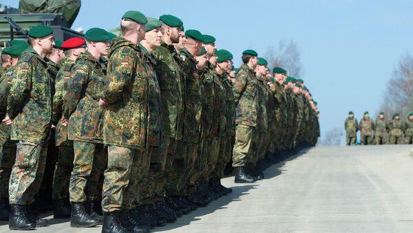 Alman askerler - Sputnik Türkiye