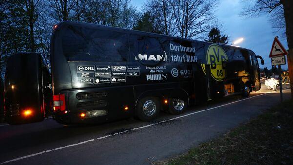 Borussia Dortmund takım otobüsü - Sputnik Türkiye