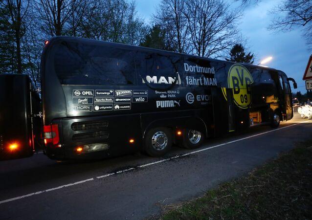 Borussia Dortmund takım otobüsü