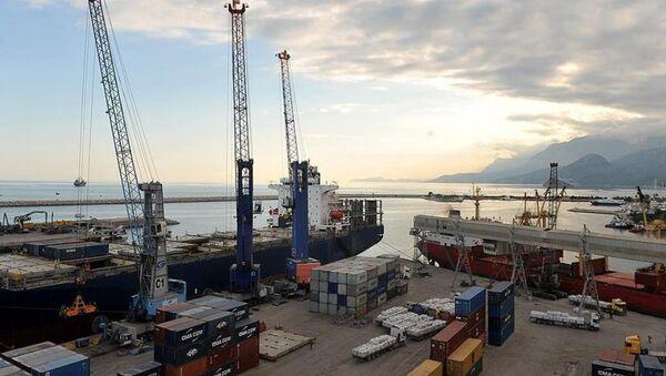 Dış ticaret - liman - Sputnik Türkiye
