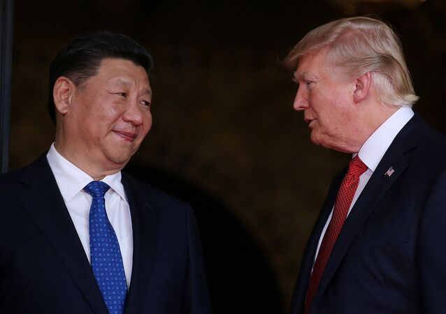 Çin Devlet Başkanı Şi Cinping- ABD Başkanı Donald Trump