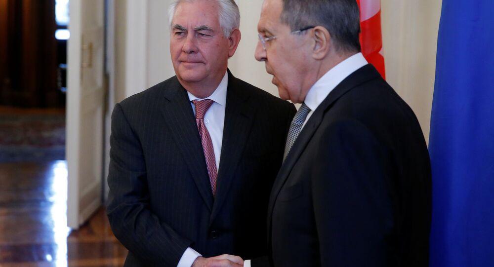 Rusya Dışişleri Bakanı Sergey Lavrov- ABD'li mevkidaşı Rex Tillerson