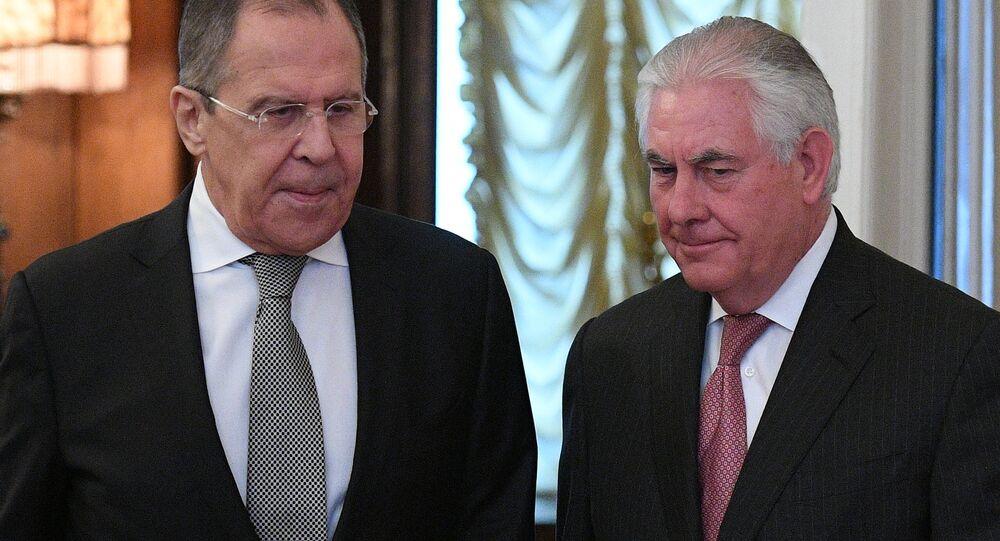 Rusya Dışişleri Bakanı Sergey Lavrov- ABD Dışişleri Bakanı Rex Tillerson