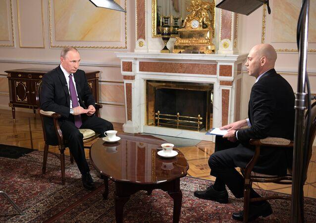 Rusya Devlet Başkanı Vladimir Putin / Mir 24