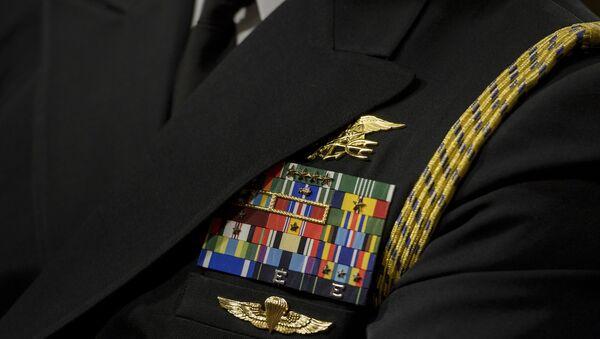 ABD'nin Navy SEAL mensubu bir subay - Sputnik Türkiye