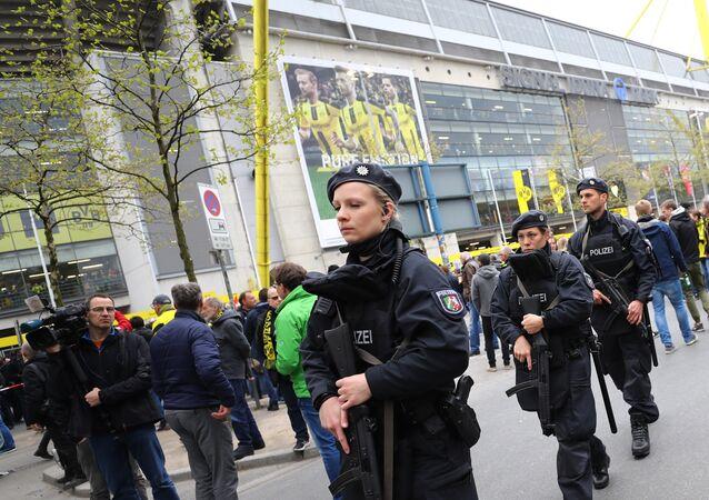 Borussia Dortmund stadı çevresinde şüpheli cisimler bulundu