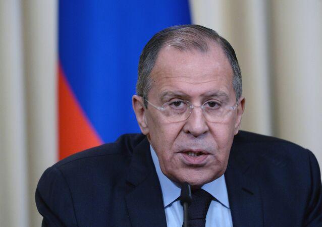 Rusya Dışişleri Bakanı Sergey Lavrov - Bangladeşli Dışişleri Bakanı Abul Hassan Mahmud Ali