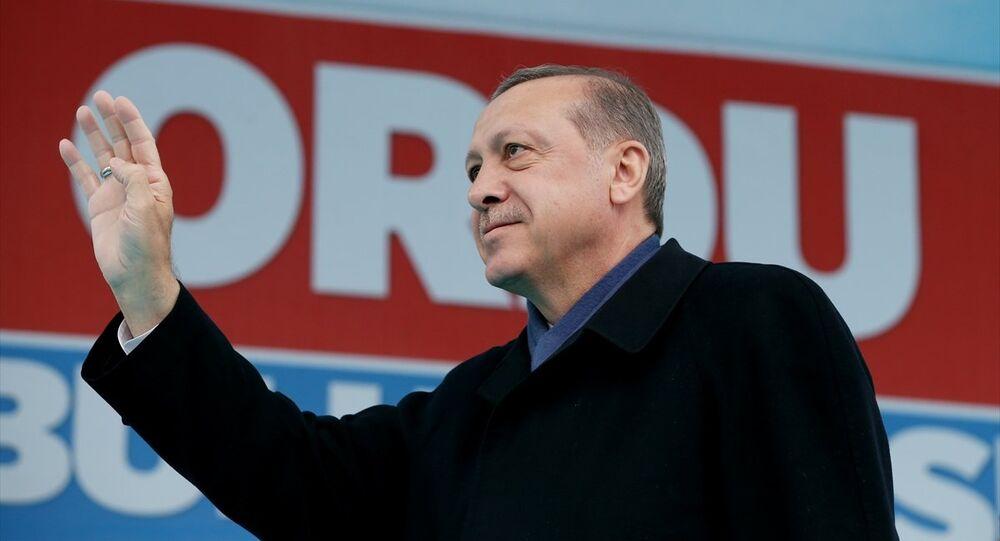 Recep Tayyip Erdoğan / Ordu buluşması