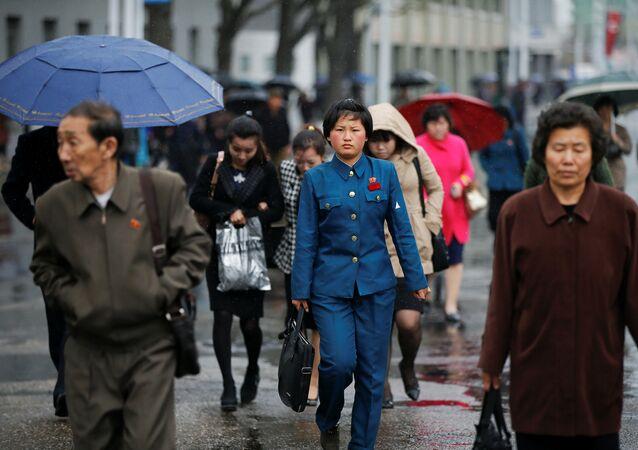 Kuzey Kore'nin başkenti Pyongyang