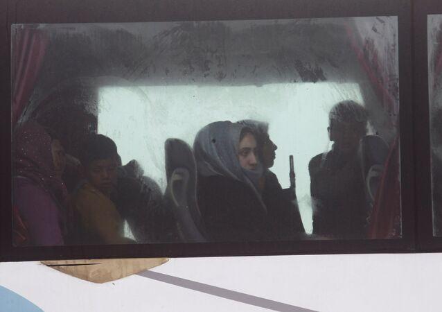 Suriye'de tahliye