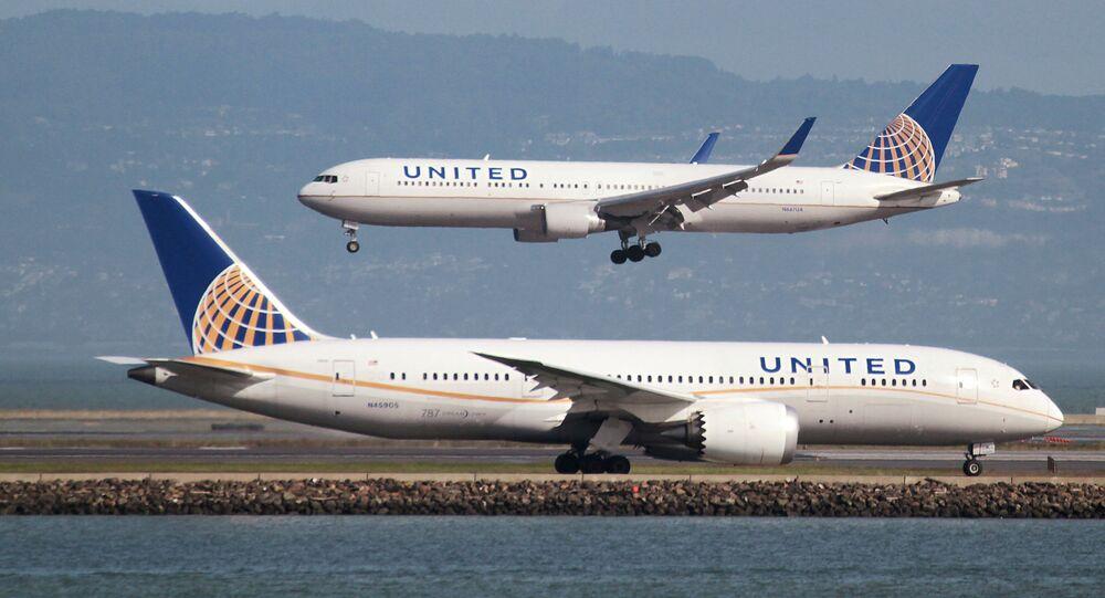United Havayolları uçağı
