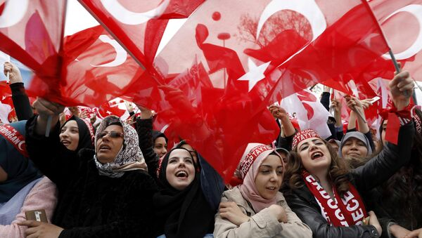 Referandum- Miting - Sputnik Türkiye