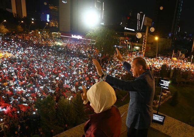 Recep Tayyip Erdoğan'ın balkon konuşması