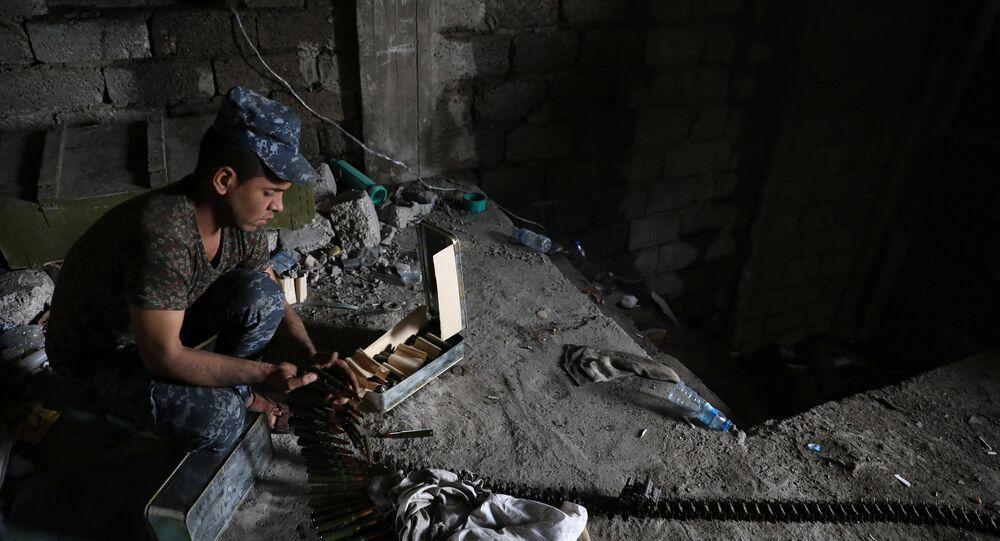 Musul'da IŞİD ile savaşan Irak federal polisi
