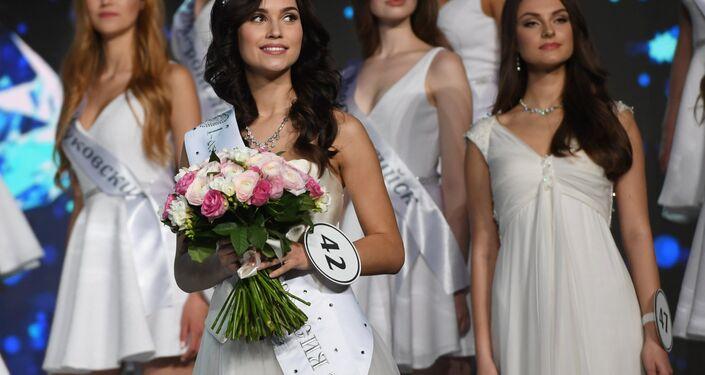 Miss Russia 2017 ikincisi Kseniya Aleksandrovna