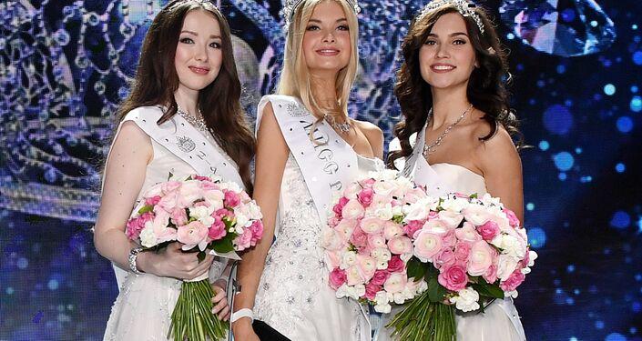 Miss Russia 2017 güzellik yarışmasının kazananları