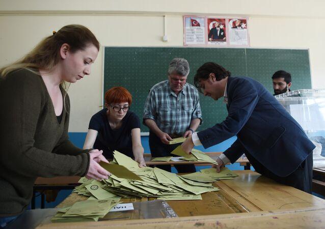 referandum - oy sayımı