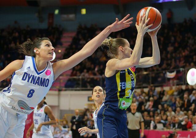 Fenerbahçe-Dinamo Kursk basketbol maçı