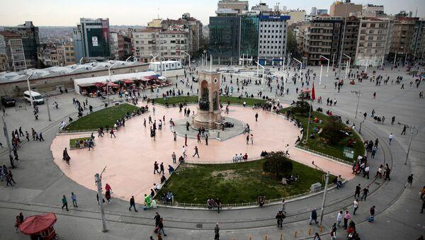 İstanbul Taksim meydanı - Sputnik Türkiye