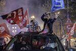 Referandum kutlamalarından kareler