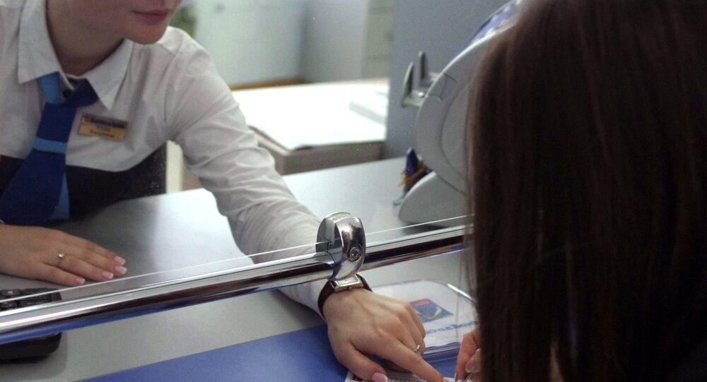 St.Petersburg'da bir vize merkezi