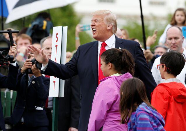 ABD Başkanı Donald Trump / Paskalya