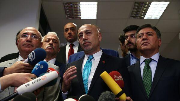CHP Genel Başkan Yardımcısı Erdal Aksünger - Sputnik Türkiye