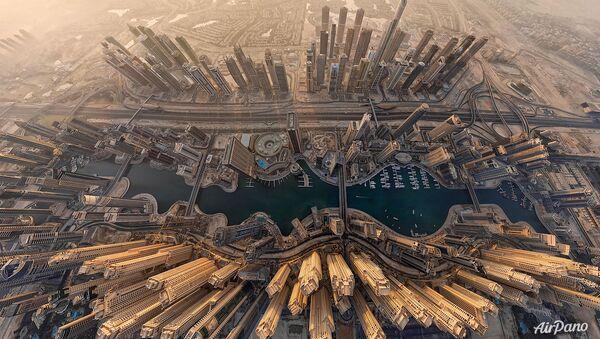 Birleşik Arap Emirlikleri'nin en büyük kenti Dubai. - Sputnik Türkiye