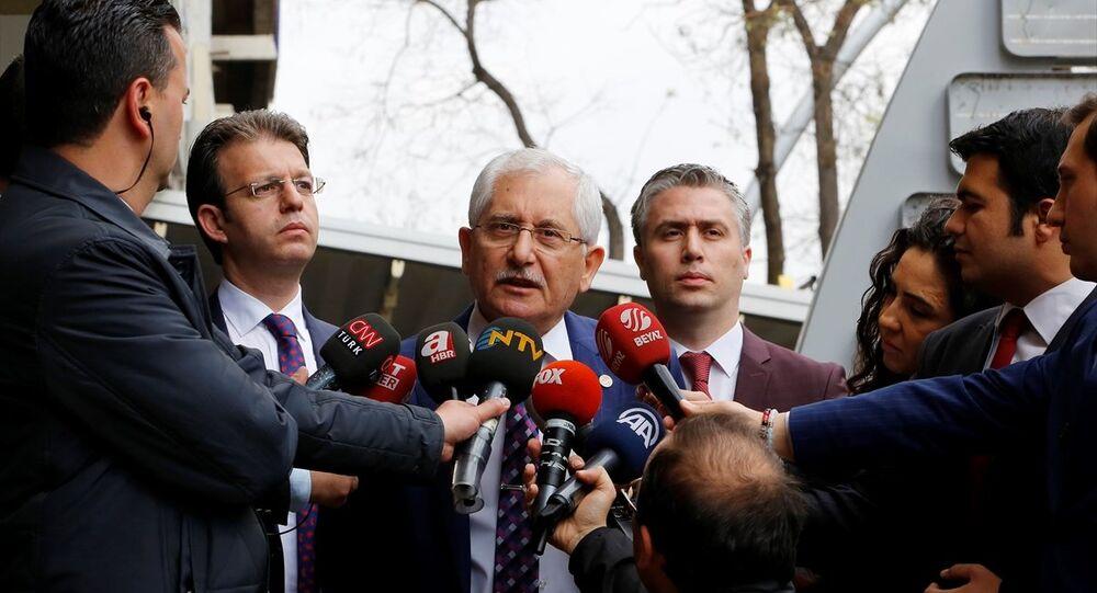 Yüksek Seçim Kurulu Başkanı (YSK) Sadi Güven