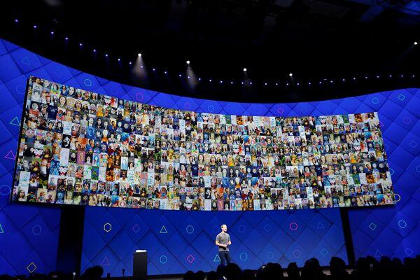 Facebook - Mark Zuckerberg - Sputnik Türkiye