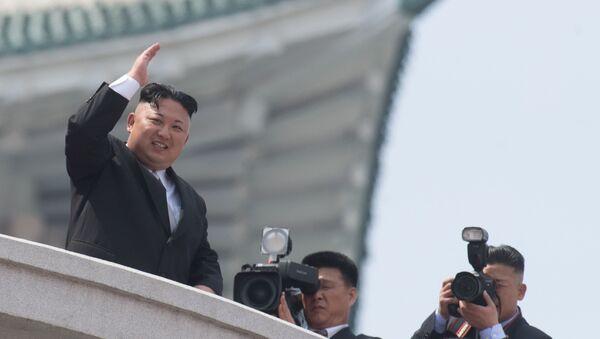 Kuzey Kore lideri Kim Jong-un. - Sputnik Türkiye