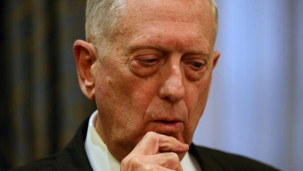ABD Savunma Bakanı James Mattis - Sputnik Türkiye