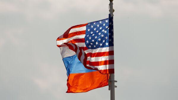 ABD- Rusya- Bayrak - Sputnik Türkiye