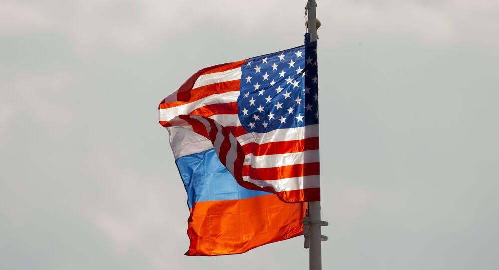 ABD- Rusya- Bayrak