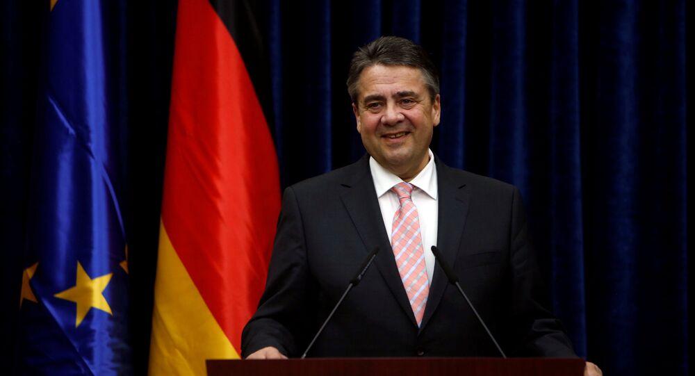 Almanya Dışişleri Bakanı Sigmar Gabriel