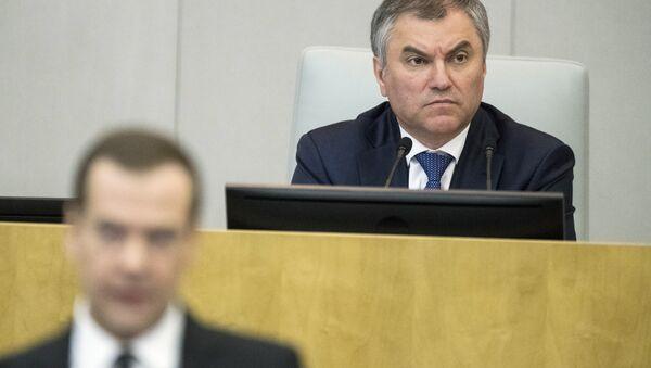 Duma Başkanı Vyaçeslav Volodin - Sputnik Türkiye