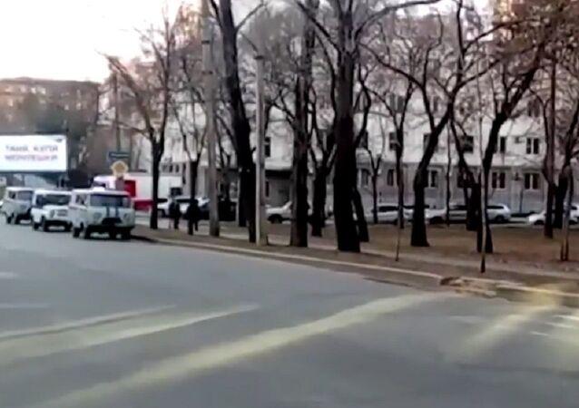 Habarovsk'taki FSB binasında saldırı