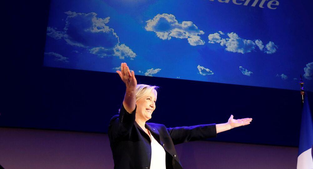 Fransız aşırı sağcı Marine Le Pen
