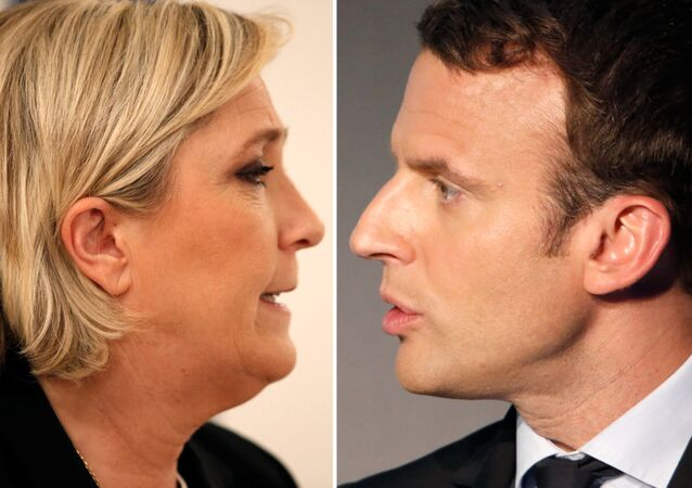 Marine Le Pen ve Emmanuel Macron