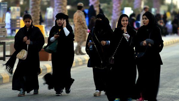 Suudi Arabistan'da kadın hakları / Suudi kadını - Sputnik Türkiye