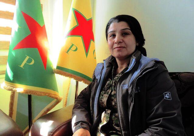 YPG/YPJ Sözcüsü Nesrin Ebdullah
