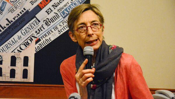 AGİT/DKİHB Sınırlı Referandum Gözlem Heyeti Başkanı Tana De Zulueta - Sputnik Türkiye