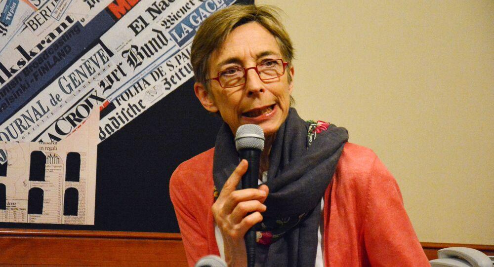 AGİT/DKİHB Sınırlı Referandum Gözlem Heyeti Başkanı Tana De Zulueta